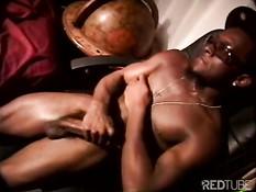 Групповуха чёрных ребят с нетрадиционной сексуальной ориентацией