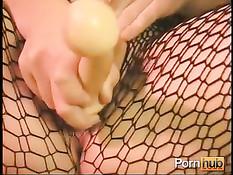 Порно мастурбации сисястых девок в корсетах и сетчатых колготках