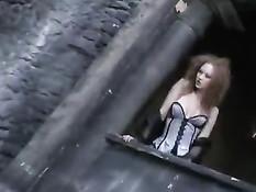 Рыжая развратница Audrey Hollander любит участвовать в порно оргиях