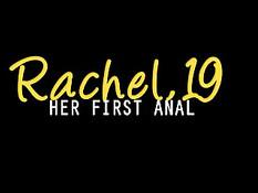 19-летняя Rachel впервые снимается в анальном порно и делает минет