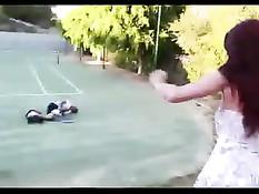 Рыжая мамочка Tiffany Mynx захотела секса с молодым приятелем сына