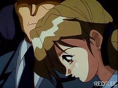 Аниме малышка смотрит, как парень трахается с её лучшей подругой
