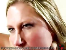Зрелую сисястую даму Devon Lee связали и оттрахали во влагалище