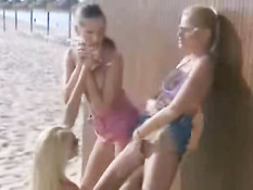 Lesbians on the beach