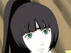 Наруто занимается сексом с сисястой девушкой с длинными волосами