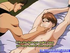 Хентай гей похитил пацана и анально оттрахал привязав к кровати