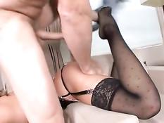 Колумбийская порноактриса Melanie Rios занимается сексом с парнем