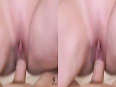Сисястая блондинка Diamond Foxxx трахается с парнем в 3d порно