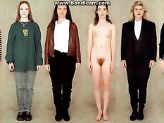 Порно видеокамера видит обнажённое женское тело сквозь одежду