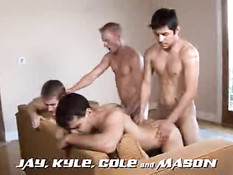 Jay, Kyle, Cole and Mason