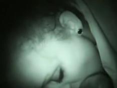 Natalee Portman sucking in the dark