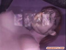 Рыжая 3d девчонка с хвостом оттрахана на ринге большим членом