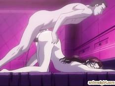 Мужчина лижет анус хентай девушке и вставляет свой большой член