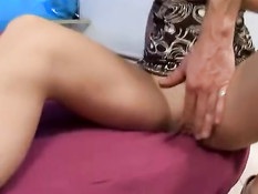 Аргентинскую девушку Lanny Pitt на порно кастинге трахают в анус