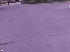 Встретил на улице русскую девку Веронику и оттрахал на кровати