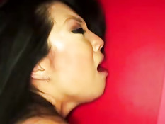 Азиатскую девушку Asa Akira жёстко оттрахали во влагалище и анус
