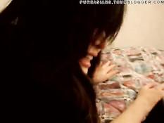 Китайская подруга делает глубокий отсос и трахается в позе раком