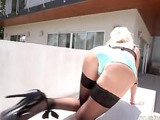 Знойная сисястая блондинка Puma Swede дала отъебать себя в анус
