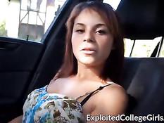 18-летняя латинская девушка впервые снимается на порно кастинге