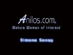 Сисястую зрелую блондинку Simone Sonay выебали в бритую пизду