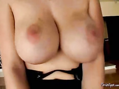 Gianna likes her boobs to be played with