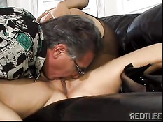 Blond and asian bitch nailed