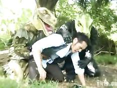 Горячие тайские геи занимаются любовью в тропических джунглях