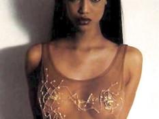 Эротические фото грудастых Mariah Carey, Alicia Keys и Tyra Banks