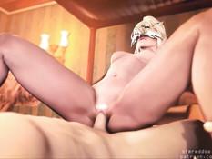 Реалистичные групповые секс оргии с великолепными 3D девушками