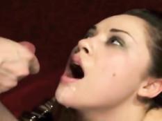 Сборник семяизвержений на развратную порно актрису Kristina Rose