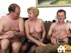 Три немецкие свинг пары сегодня собрались на горячую вечеринку