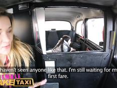 Брюнетке пришлось заняться сексом с лесбиянкой водителем такси