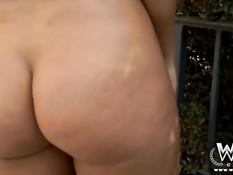 Здоровый чёрный хуй входит в киску и анус блондинки Bridgette B