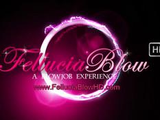 Романтичная брюнетка в розовом белье делает минет и дрочит член