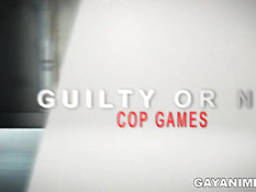 3D полицейский гей в душе занимается сексом с рыжим бойфрендом