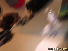Негр и мулатка Chanell Heart ебутся с белой девкой Valentina Nappi