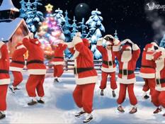 Девки выдрачивают из парней сперму под рождественскую песню