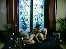 Горячий ретро секс с красивой сисястой блондинкой Brigitte Lahaie