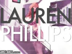 Темнокожие ребята втроём отодрали татуированную Lauren Phillips
