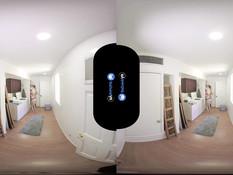 Виртуальный 3D секс в позе наездницы с блондинкой Alexa Grace