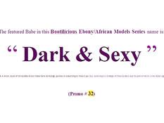 Сексуальные африканские девки показывают свои большие жопы