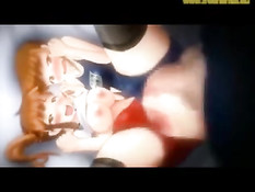 Развратные секс игры с сисястой 3D девушкой Imoni из манги X-Rey