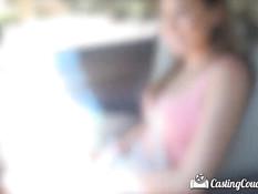 Оттрахал на кастинге девчонку с интимной стрижкой Melissa Moore