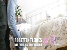 Rosetten Teenies Das erste Mal in den Arsch 8 / Первый раз в анус 8