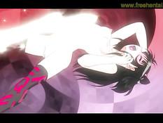 Симпатичную аниме брюнеточку оттрахал мускулистый мужчина