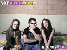 Анальные и вагинальные ласки двух молоденьких испанских лесбиянок
