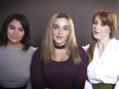 Трём возбуждённым сиськастым лесбиянкам захотелось заняться сексом