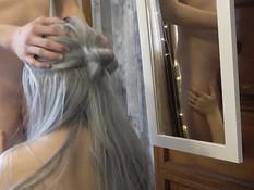 Молодая блондиночка оттрахана в позе раком после хорошего отсоса