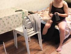 Беременные русские девки раздеваются и показывают себя во всей красе