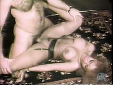 Пышногрудая шатенка обнажила грудь и занялась любовью с мужчиной